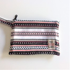 Waterproof Bag Woven - Greece Black Red