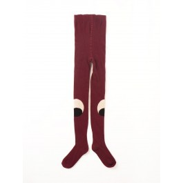 Tights - Eyes Burgundy