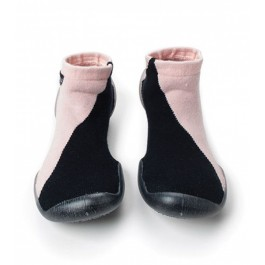 Slippers collégien and nununu - Black and Pink