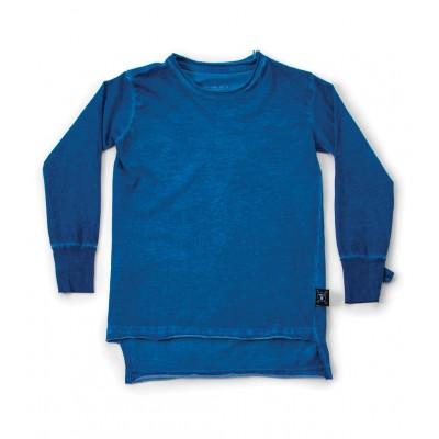 2 lengths T-Shirt - Dirty Blue
