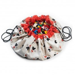 Τσάντα αποθήκευσης παιχνιδιών 2 σε 1- Mickey Cool