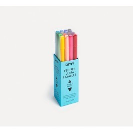 Set of 16 Ultra Washable Felt-Tip Markers