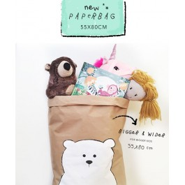 Paperbag - Large Bear