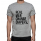 T-Shirt for Dad - Real Men Change Diapers