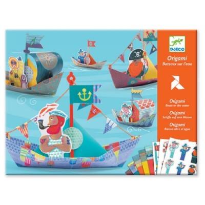 Origami Djeco - Make Sailing Boats