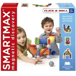 Construction Magnetic Set - Click and Roll