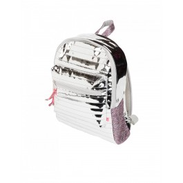 Gracia Metallic Back Pack - Silver Big