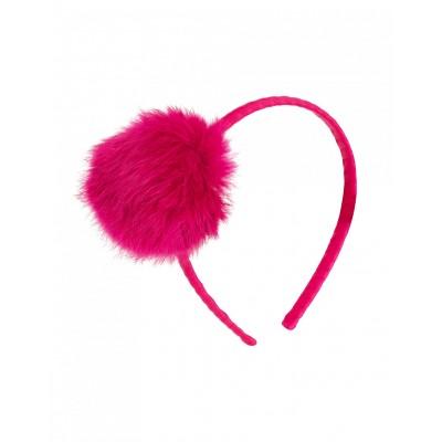 Galia Headband - Pom Pom Sangria