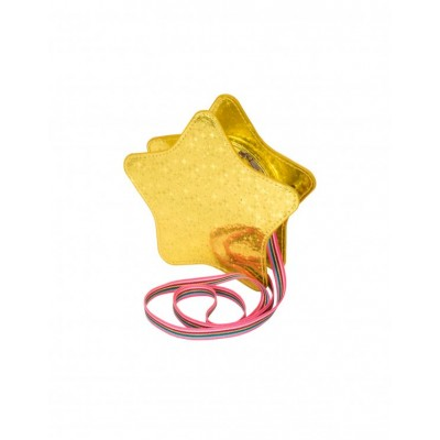 Metallic Star Bag - Gold