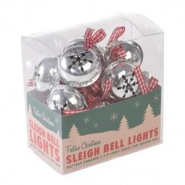 Christmas Bell Lights Garland