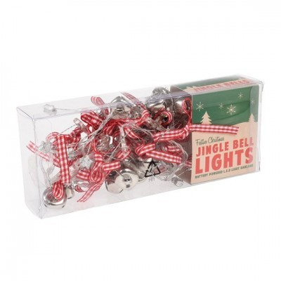 Christmas Bells Led Lights Garland