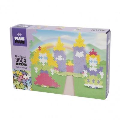 Mini Pastel Castle Plus Plus - 360pcs