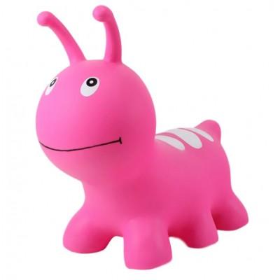 Φουσκωτό Ζωάκι - Jumpy Ροζ σκουλικάκι