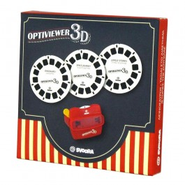 Set of 3 Cards 3D for Optiviewer