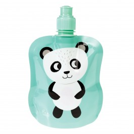 Folding water bottle - Miko the Panda
