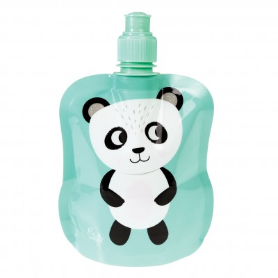 Folding water bottle - Miko the Panda
