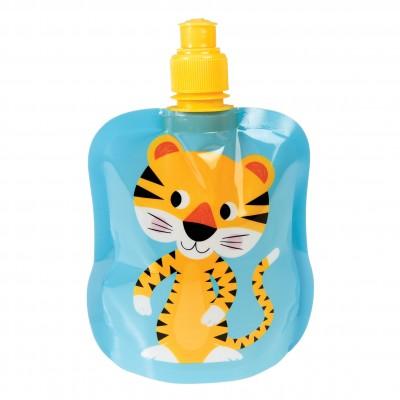 Folding water bottle - Tiger