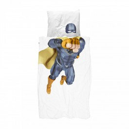 Duvet Cover Set - Super Hero Blue