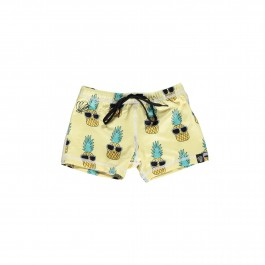 Swim short Rash Guard - Pineapple
