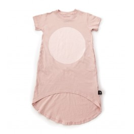Circle Dress - Powder Pink