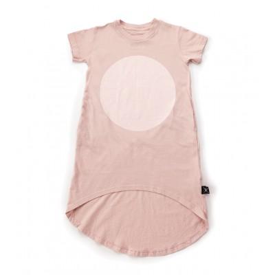 Circle Dress - Powder Pink