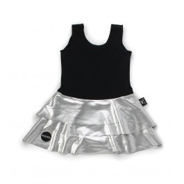 Skirtini - Black and Silver
