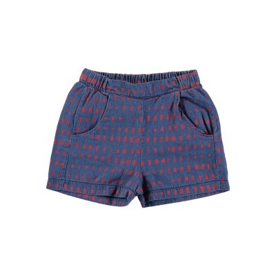Shorts with Red Squares