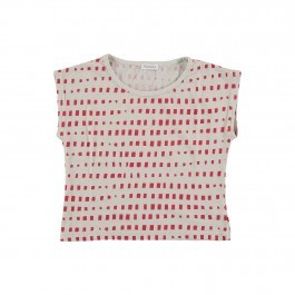 T-Shirt Red Squares