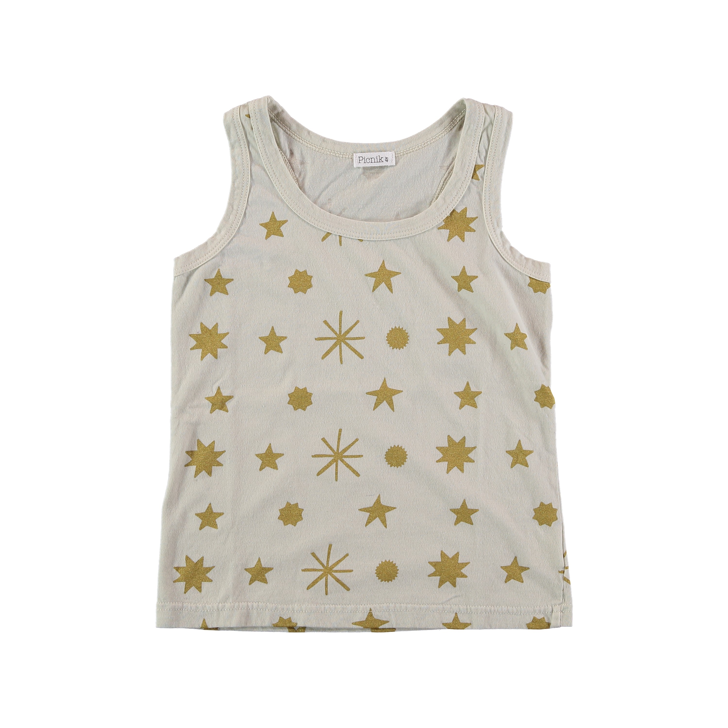 f32d3d6449a2 Tank Top - Golden stars - Alice on board