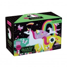 Puzzle Unicorn - Glow in the dark