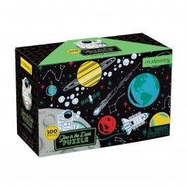 Puzzle Outer Space - Glow in the dark