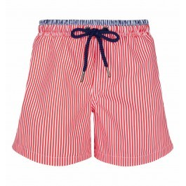 Swimshort - Red and white stripes