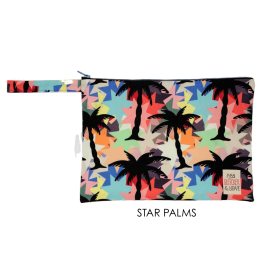 Waterproof Bag Woven - Star Palms