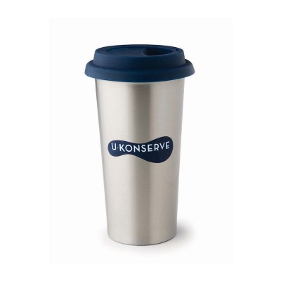 Insulated Coffee Cup - Navy