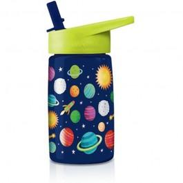 Μπουκάλι νερού με ενσωματωμένο καλαμάκι - Πλανήτες