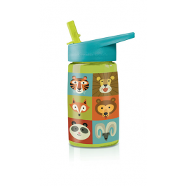 Eco Kids Tritan Drinking Bottle - Cute animals