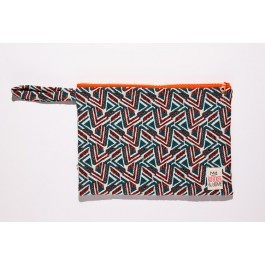 Waterproof Bag Woven - Red Leaves