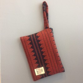 Waterproof Bag Woven - Black and Red Queen