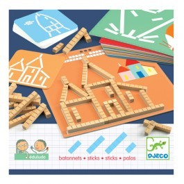 Educational Game with Wooden Sticks