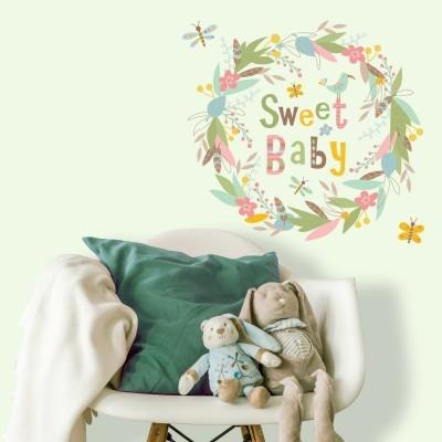 Αυτοκόλλητα Τοίχου - Sweet Baby