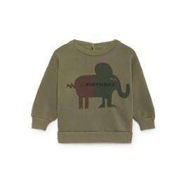 Baby Round Neck Sweatshirt - Pigphant