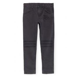 Slim Μαύρο παντελόνι