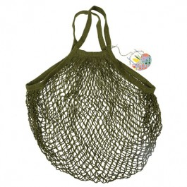 French Style πλεκτή τσάντα για ψώνια