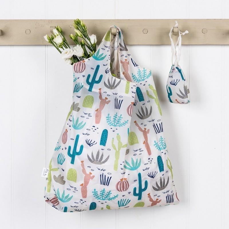 9156045d8e Αναδιπλούμενη τσάντα για ψώνια - Desert in Bloom - Alice on board