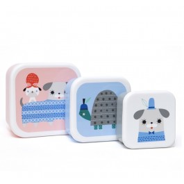 Lunchbox set Peanut & Co - Set of 3