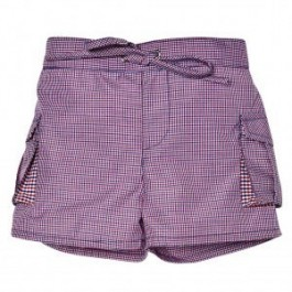 Plaid Swim Trunks Maxime