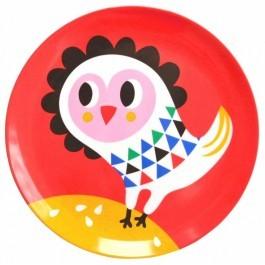 Melamine Plate - Owl
