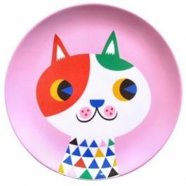 Πιάτο Μελαμίνης - Cat