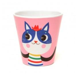 Ποτήρι Μελαμίνης - Cat