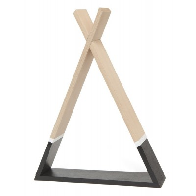 Tipi Shelf Black